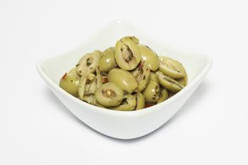 Olive-verdi-rustiche